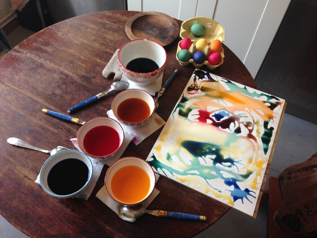 easter painting
